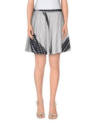 Chalayan Skirts Mini Skirts Women Light Grey