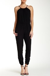Eight Sixty Blouson Jumpsuit Black