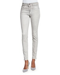 Ralph Lauren Black Label Mid Rise Matchstick Jeans Smoke Gray Women's Smoke Grey