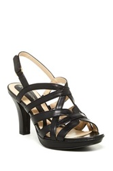 Naturalizer Delma High Heel Sandal Wide Width Available Black