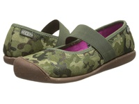 Keen Sienna Mj Canvas Camo Print Women's Flat Shoes Multi