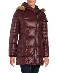 Marc New York Solid Lacquer Puffer Red