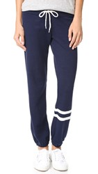 Monrow Athletic Sweatpants Navy Bone