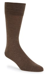 John W. Nordstromr Men's Big And Tall Nordstrom Socks Brown Heather