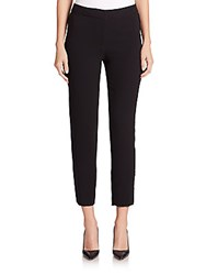 Yigal Azrouel Pleated Side Pants Black