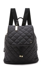 Le Sport Sac Beverly Backpack Black Phantom Quilt