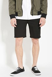 Forever 21 Cuffed Hem Pocket Shorts