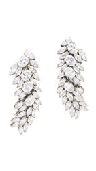 Iosselliani Francis Earrings Silver Clear