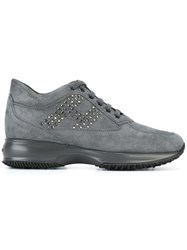 Hogan 'Interactive Strass' Sneakers Grey
