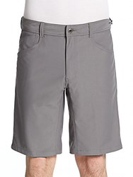 Hawke And Co Knit Shorts Titanium
