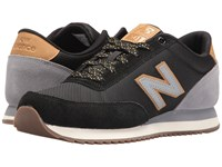 New Balance Mz501 Black Grey Suede Synthetic Men's Shoes