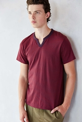 Alternative Apparel Alternative Organic Pima Striped Shirt Red