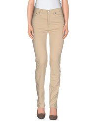 Moschino Jeans Trousers Casual Trousers Women Beige