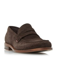 Dune Buckingham Casual Penny Loafers Brown