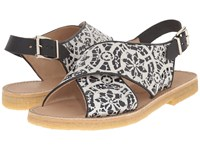 Penelope Chilvers Max Alhambra Black White Women's Shoes