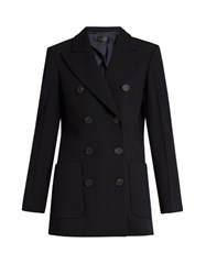 Calvin Klein Double Breasted Tailored Jacket Navy