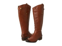 Sam Edelman Penny Wide Calf Whiskey Women's Zip Boots Brown