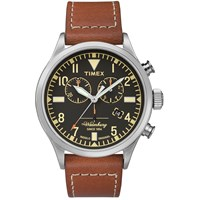 Timex X Red Wing Waterbury Chronograph Watch Brown