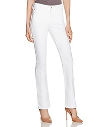 Nydj Billie Bootcut Jeans In Optic White