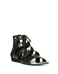 Fergie Trisha Gladiator Sandals Black