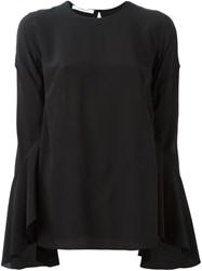 Givenchy Bell Sleeve Blouse Black