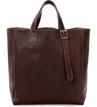 Aspinal Of London A Tote Leather Bag Brown