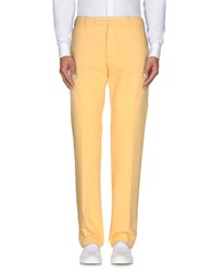 Marco Pescarolo Trousers Casual Trousers Men Yellow