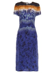 Altuzarra Glaze Tie Dye Silk Dress