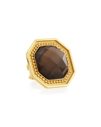 Stephanie Kantis Smoky Topaz Adjustable Ring