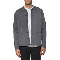Sunspel Charcoal Milano Jacket Grey