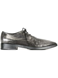 Marsell Metallic Lace Up Shoes