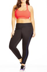 Plus Size Women's City Chic Sports Crop Top