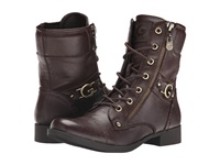 G By Guess Bates Espresso Women's Lace Up Boots Brown
