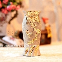 Gold Porcelain Vase Uf Pv015 38.00 Buy Unique Craft Gifts From Best Online Shop Ufingo