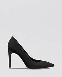 Whistles Pointed Toe Pumps Cornel High Heel Black