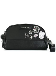 Philipp Plein 'Flight Pride' Clutch Black