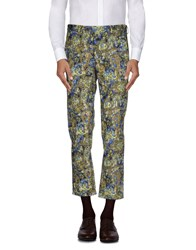 Msgm Trousers Casual Trousers Men Yellow