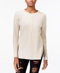 Rachel Roy Ribbed Sweater Canvas