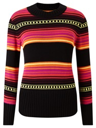 Alice By Temperley Somerset By Alice Temperley Mexican Jumper Red Black