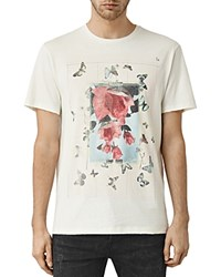 Allsaints Taped Tee Chalk White