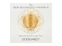 Dogeared New Beginnings Mandala Center Star Ring Gold Dipped Ring