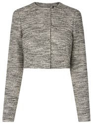 Lk Bennett L.K. Karlie Tweed Jacket Black