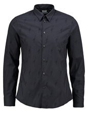 Filippa K M. Pierre Slim Fit Shirt Dark Grey Black Dark Gray