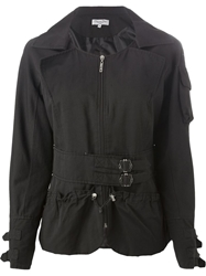 Christian Dior Vintage Belted Drawstring Jacket