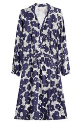 Paul And Joe Printed Dress With Silk Florals