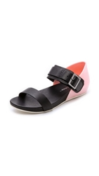 United Nude Apollo Lo Sandals Blossom Black