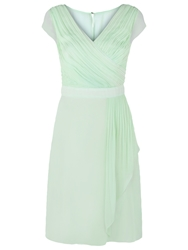 Kaliko Waterfall Prom Dress Pastel Green