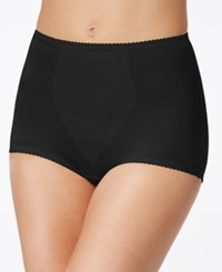 Bali Light Control Brief With Tummy Panel 2 Pack X70j Black Black