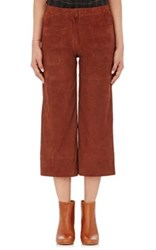 Masscob Women's Suede Culottes Brown