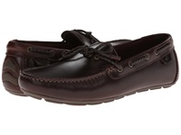 Sperry Wave Driver Braided Amaretto Leather Men's Slip On Shoes Brown